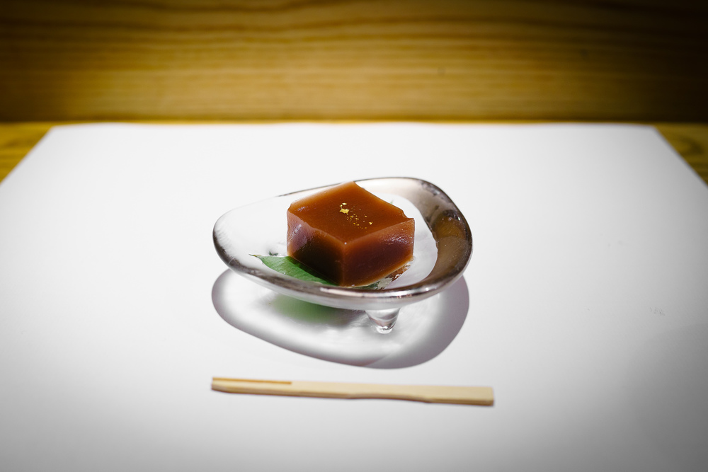 11th Course: Yokan red bean