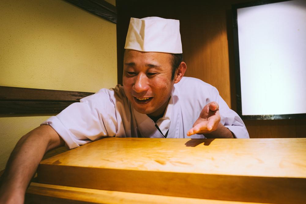 Chef Shinichi Inoue