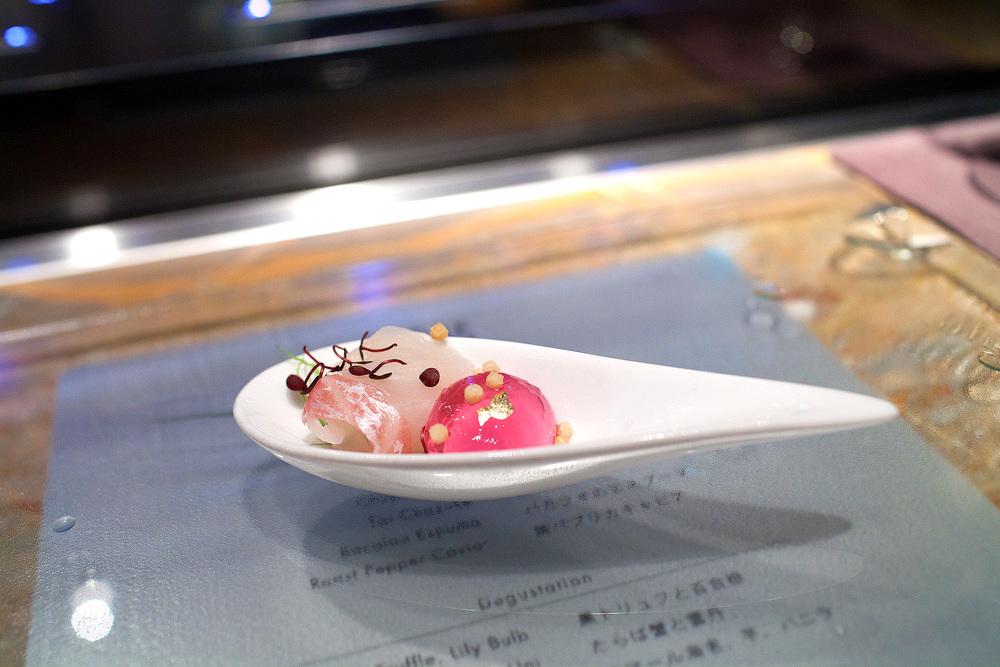 Tapas Molecular Bar, Tokyo - Tai Chazuke