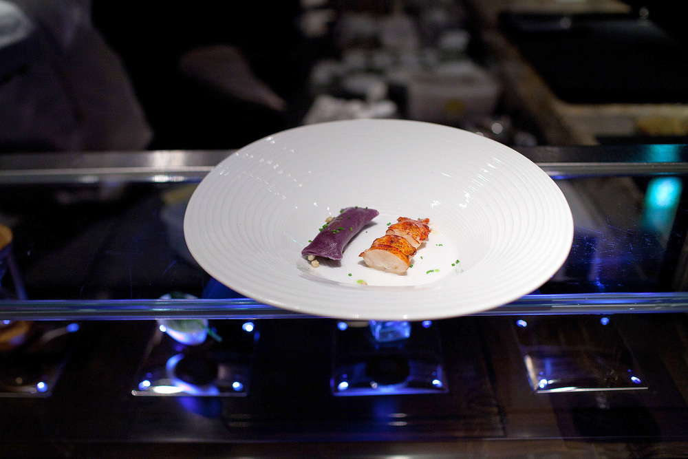 Tapas Molecular Bar, Tokyo - Lobster, Potato, Vanilla