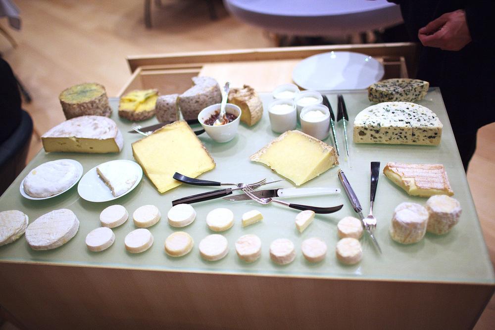 Michel Bras - Les fromages