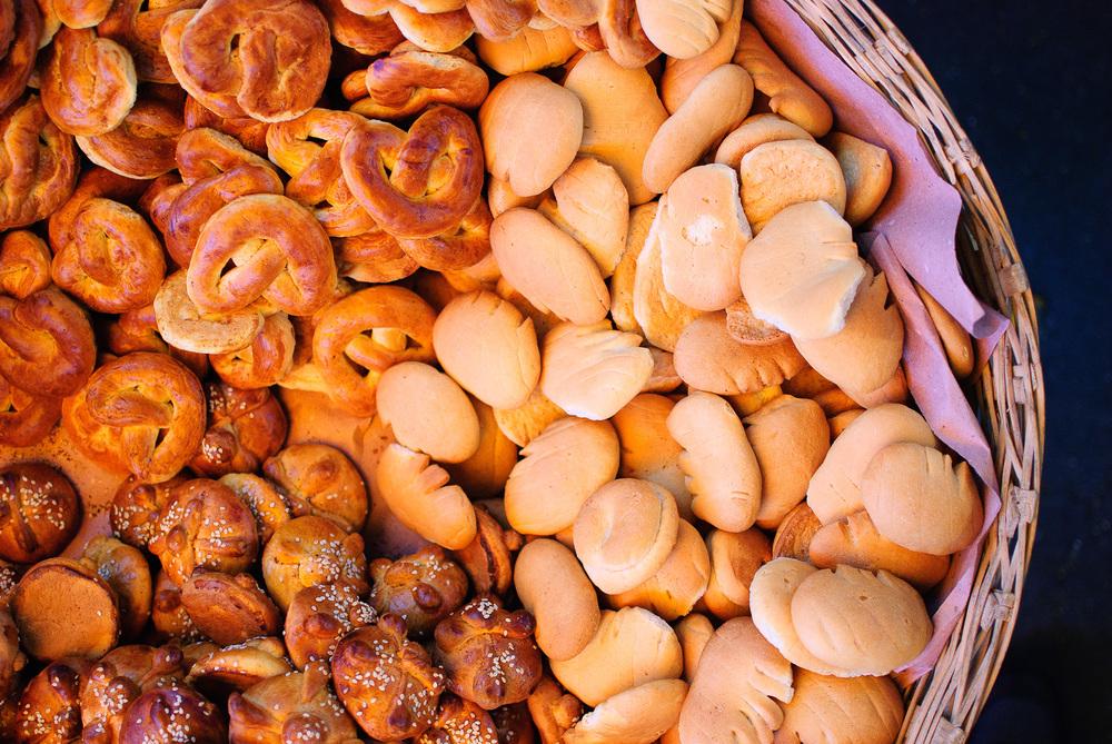 Mercado de Cholula - Pan de Muerto