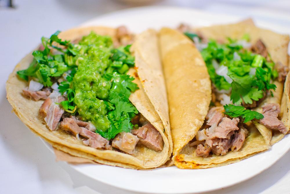Mercado de Cholula - Tacos de Barbacoa de Borrego