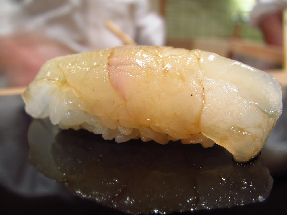 Sukiyabashi Jiro, Ginza, Tokyo - Hirame