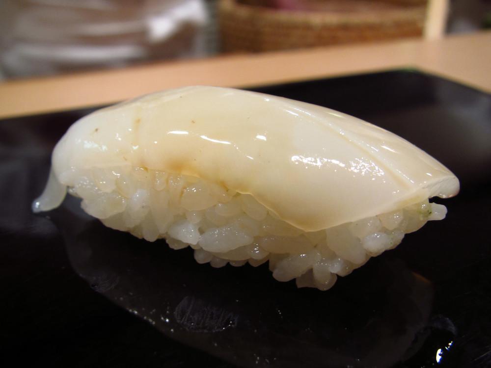 Sukiyabashi Jiro, Ginza, Tokyo - Sumi-ika