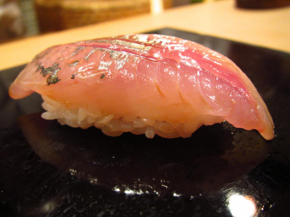 Sukiyabashi Jiro, Ginza, Tokyo - Aji