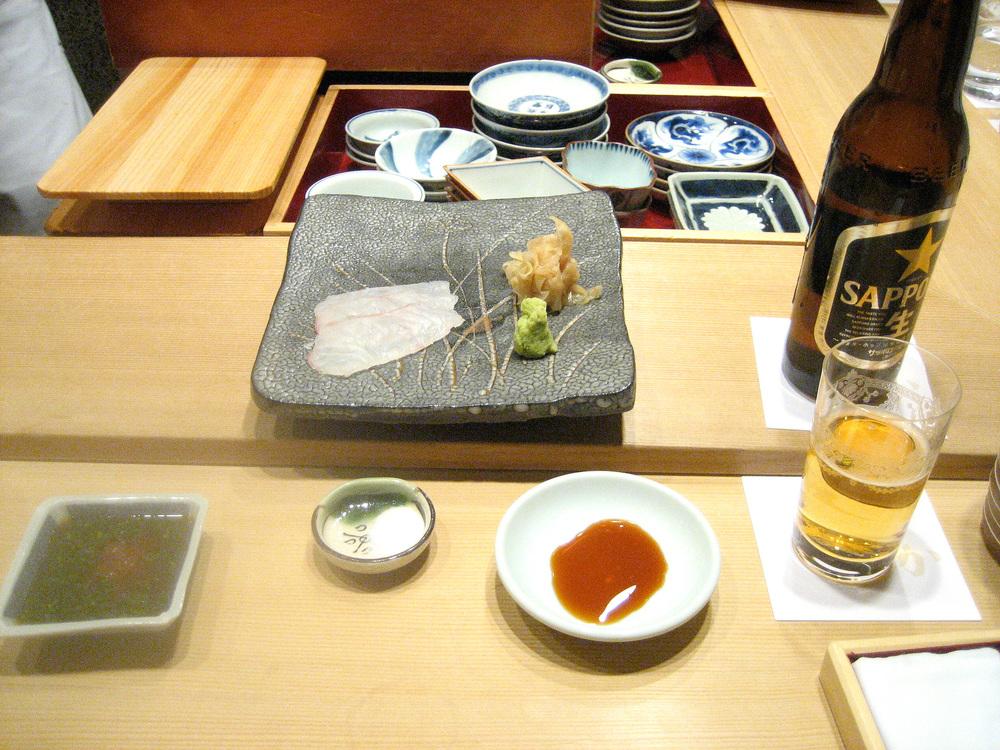 Sushi Kanesaka, Tokyo - Fluke