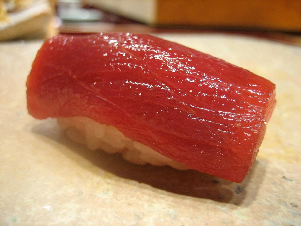 Sushi Kanesaka, Tokyo - Lean tuna