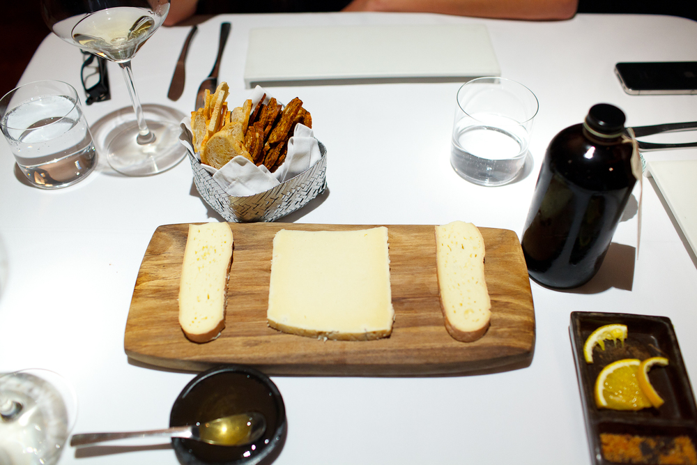 Artisanal cheeses with cold-brew concentrate from Kickstand coffee