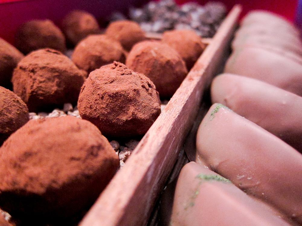El Bulli - Chocolate Truffles