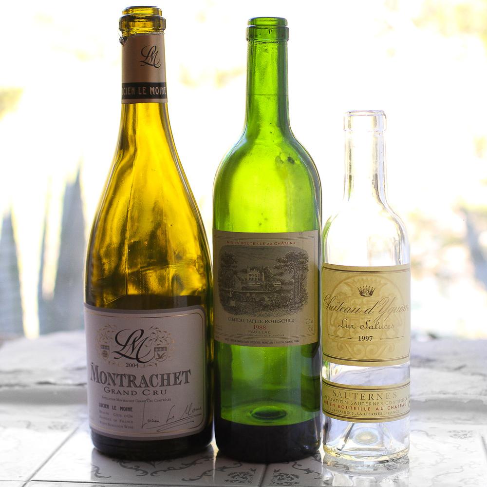 El Bulli - Dinner Wines