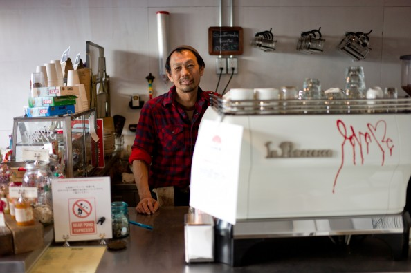 Bear Pond Espresso, Tokyo - Barista-owner Katsu Tanaka