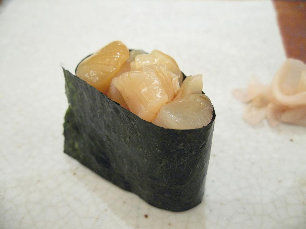 Kyubei, Ginza, Tokyo - Small Scallops