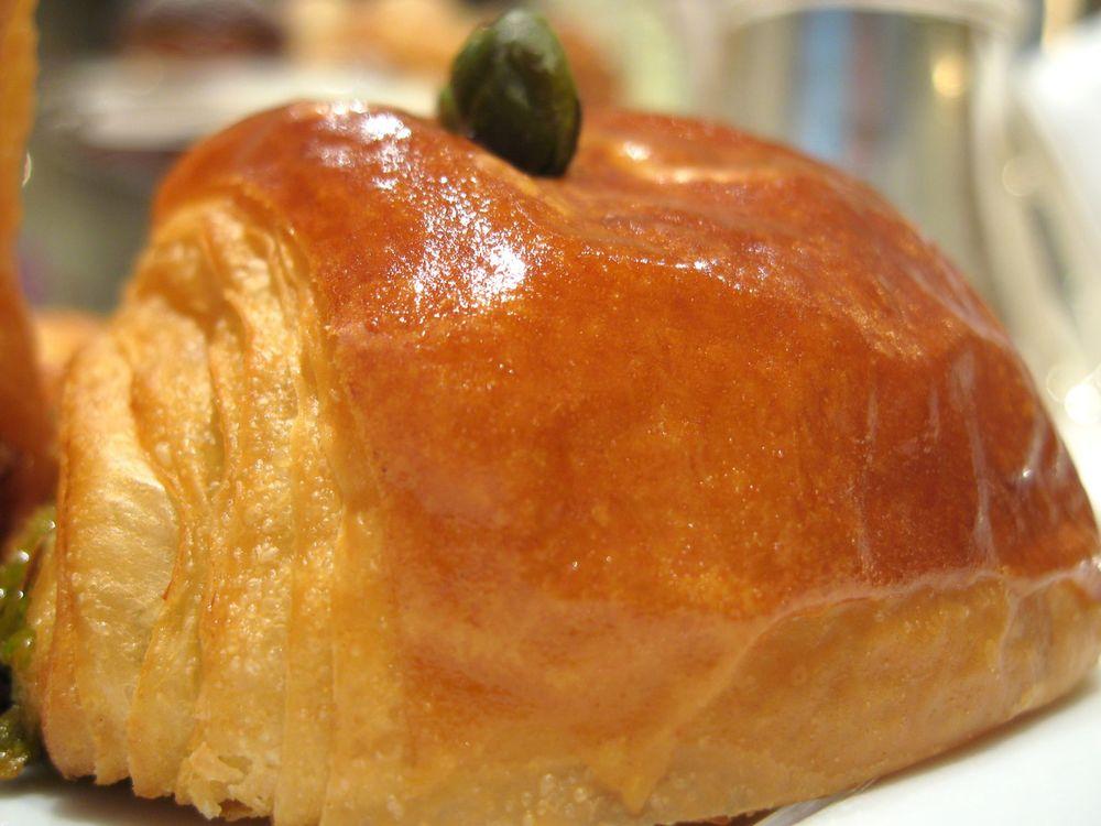 Pain Choco-Pistache - Pâte d'amande à la pistache de Sicile