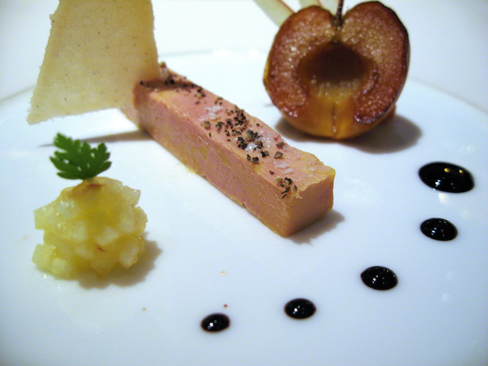 Beige, Tokyo - Preserved foie gras, sour apple, quince marmalade