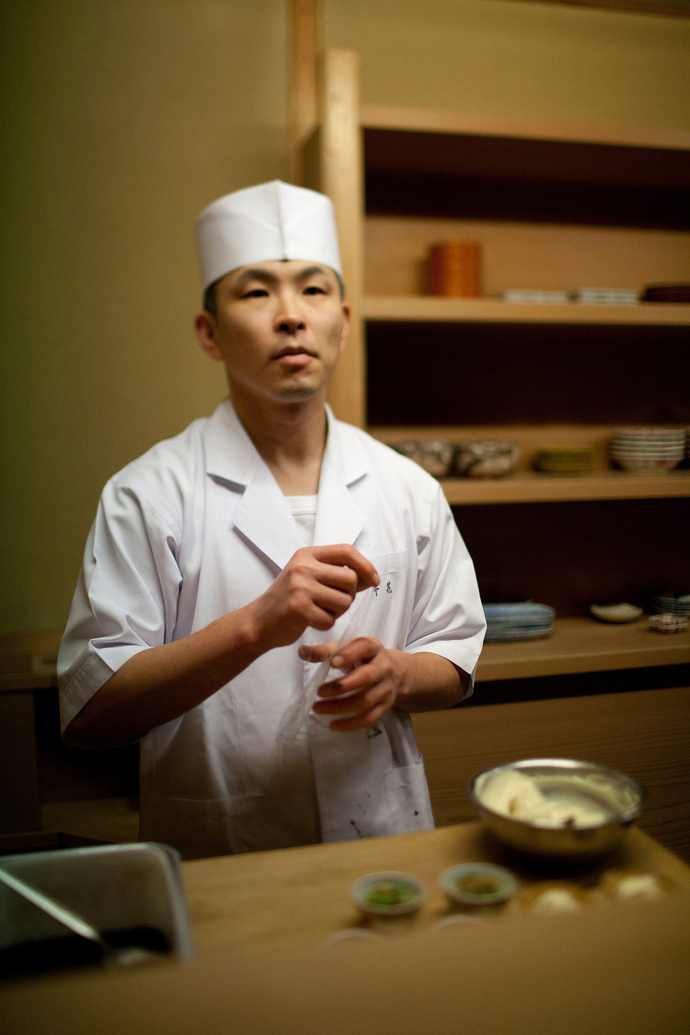 Chihana, Kyoto, Japan - Assistant Chef
