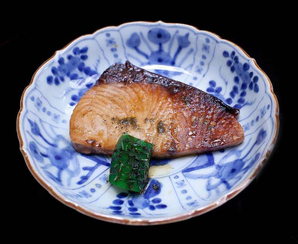Chihana, Kyoto, Japan - Roasted Yellowtail