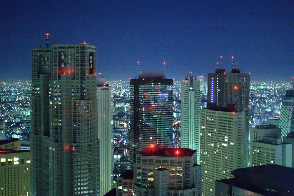 New York Grill, Tokyo - Nishishinjuku at Night