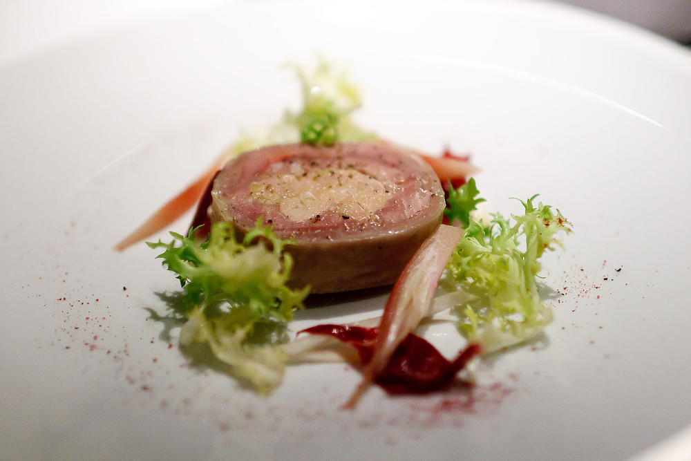 New York Grill, Tokyo - Confit Guinea Fowl and Foie Gras