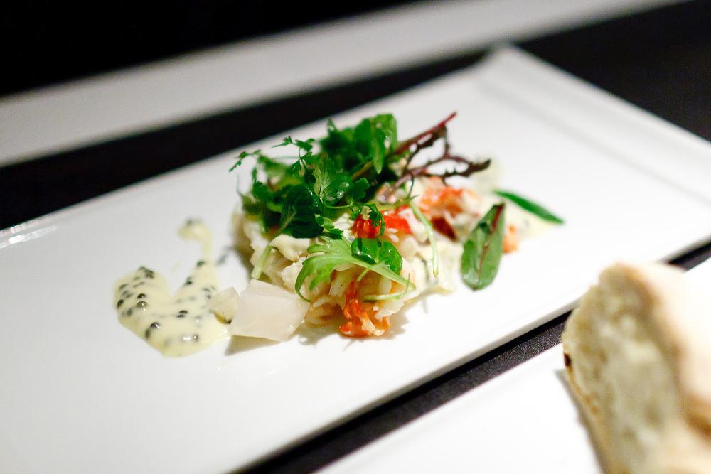 New York Grill, Tokyo - Fresh Hokkaido Taraba Crab, Marinated Vegetables and Oscietra Caviar