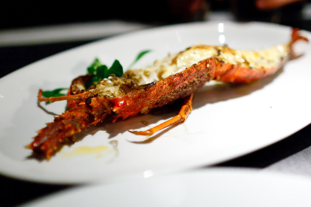 New York Grill, Tokyo - Australian Southern Rock Lobster, Black Truffle, Champagne Sauce