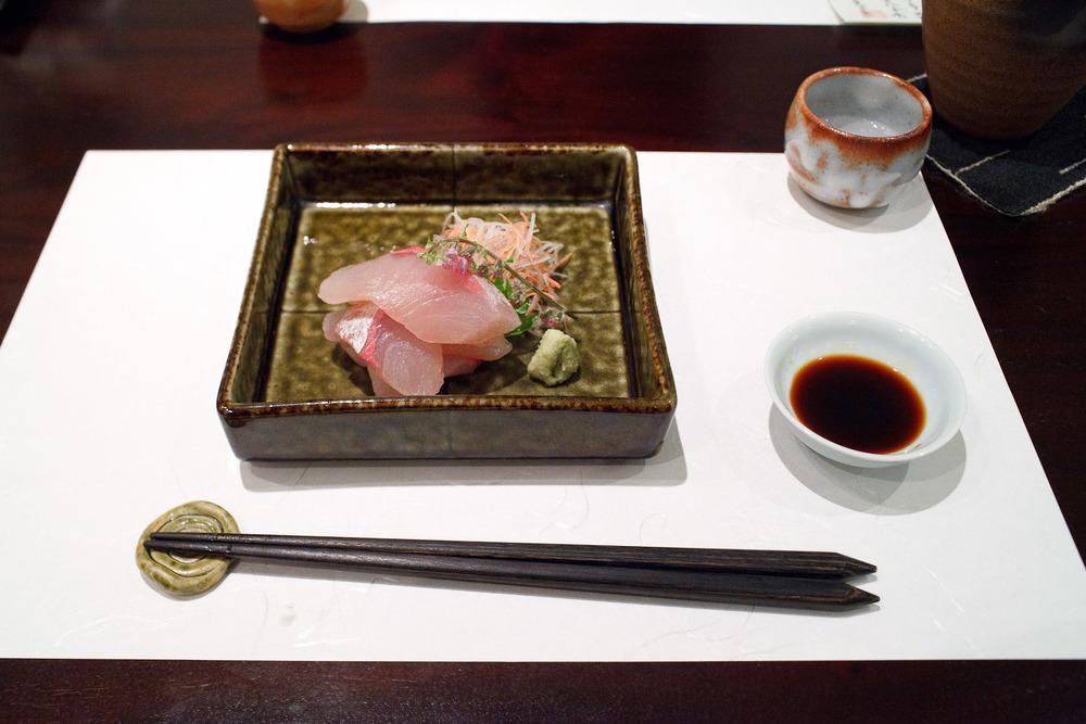 Esaki, Tokyo - Hiramasa (amberjack)