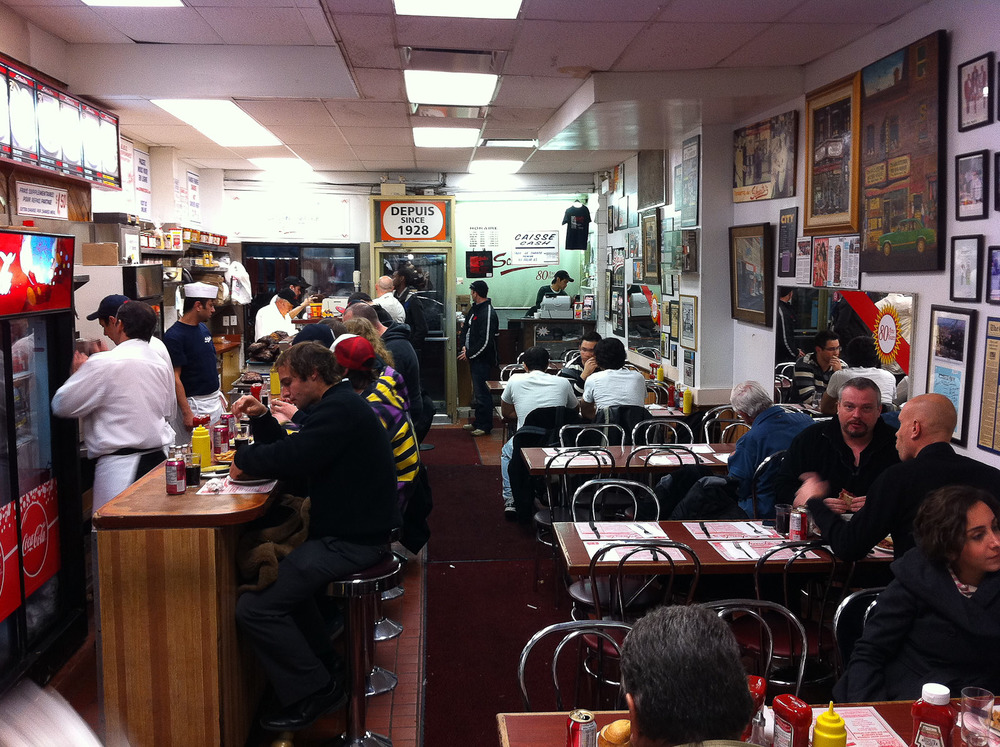 Schwartz's, Montreal - The Dining Room