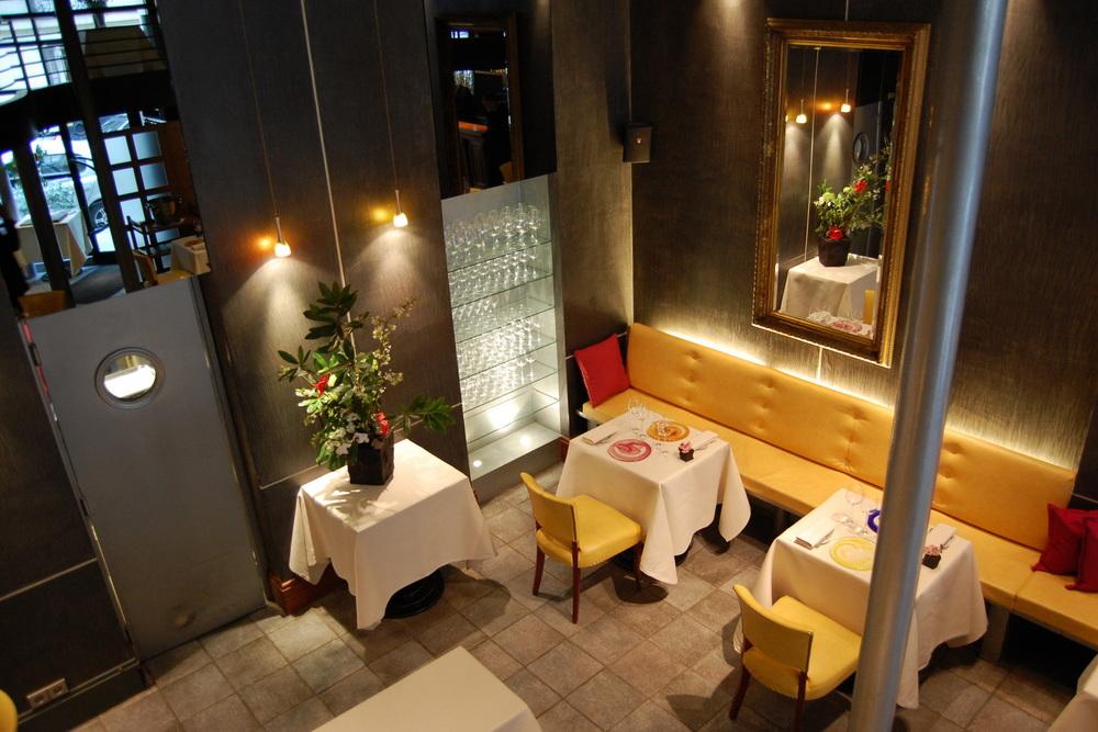 L'Astrance dining room