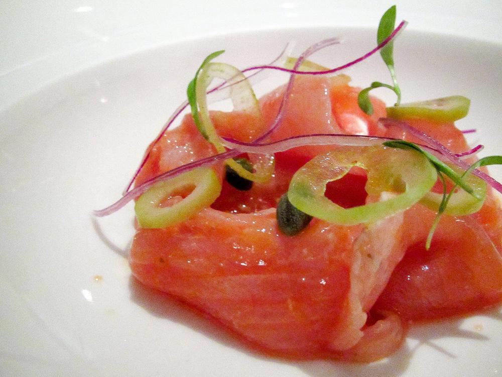 Pujol - Cebiche de pescado a la veracruzana