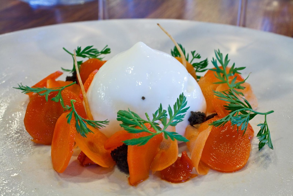 Noma - Carrots; Buttermilk and anis