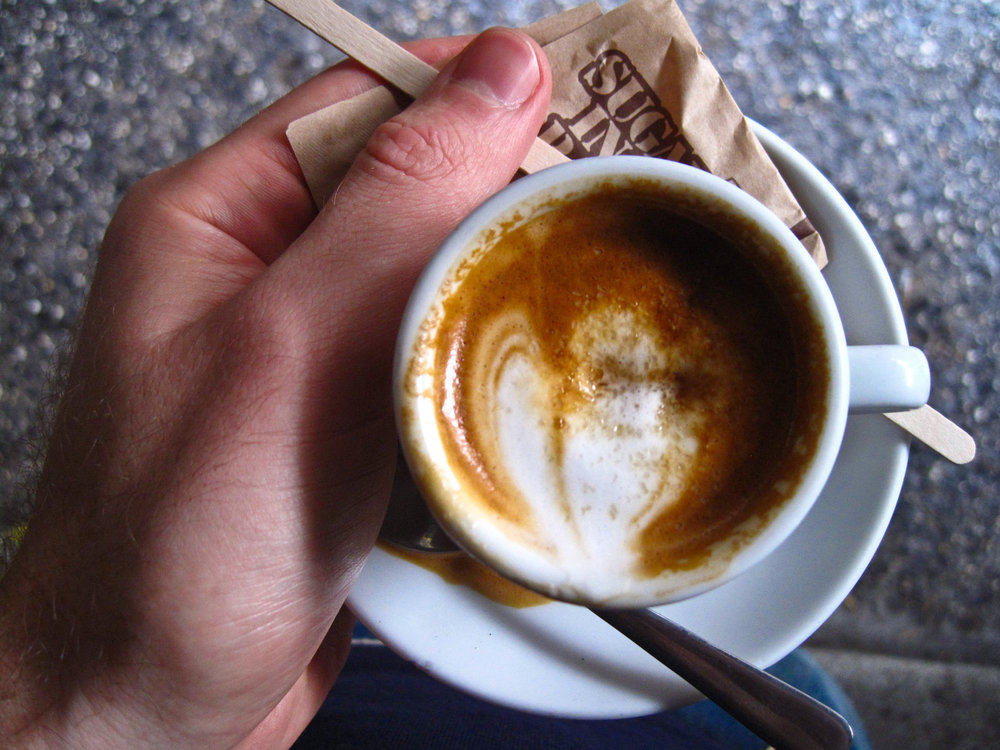 Joe the Art of Coffee - Macchiato with Sugar