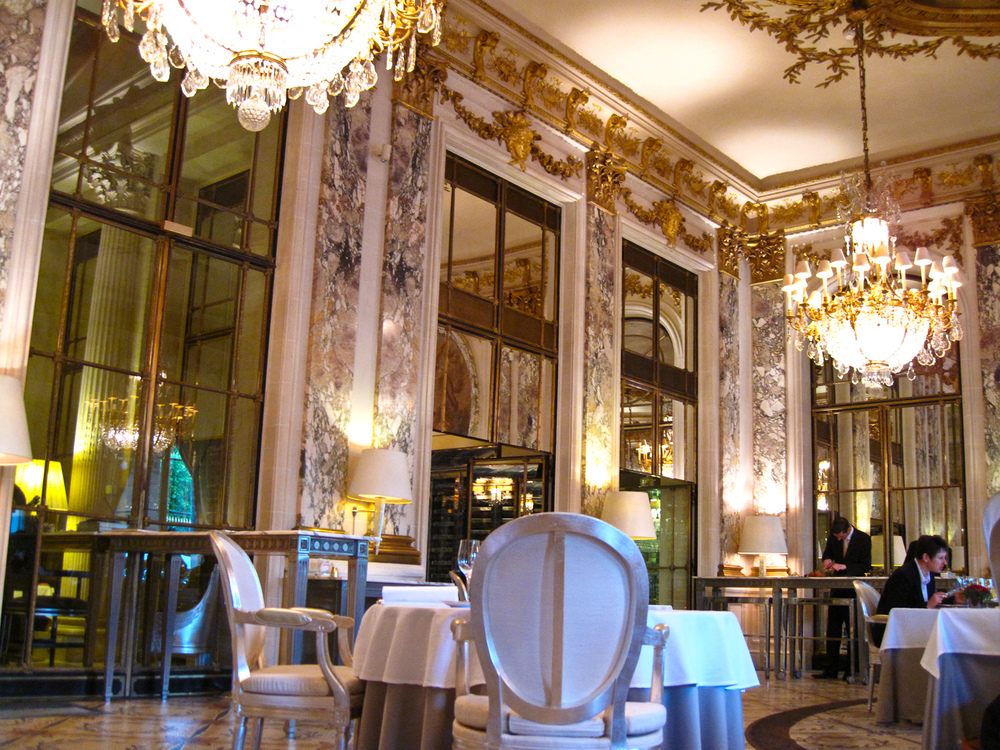 Le Meurice - Dining Room