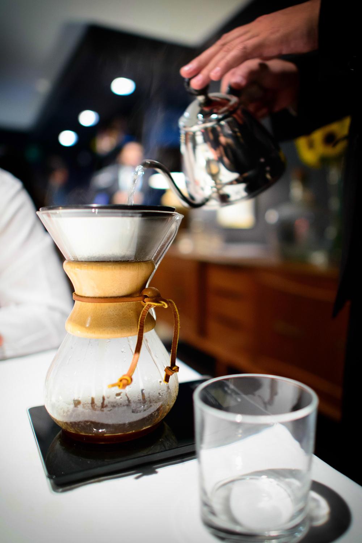 Café Chemex de La Avellaneda (Guerrero) molido en casa