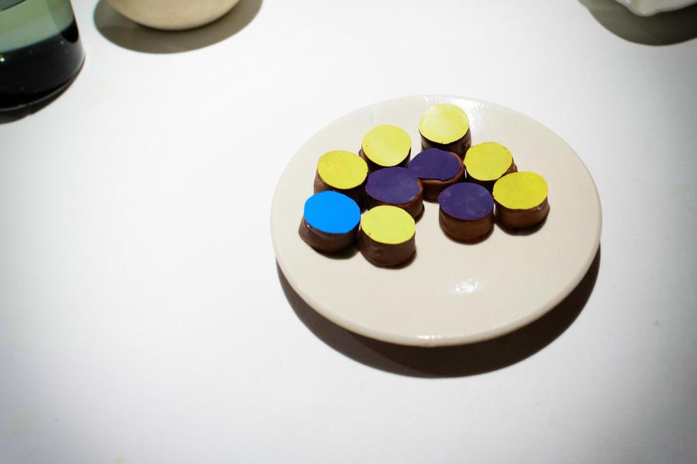 Chocolates hechos en casa