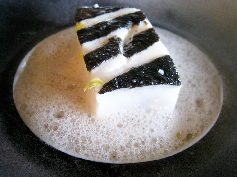 Ledoyen - Blanc de turbot de ligne juste brais� pommes rattes tr