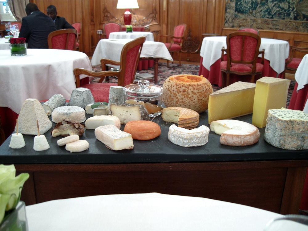 Le Bristol - Les Fromages