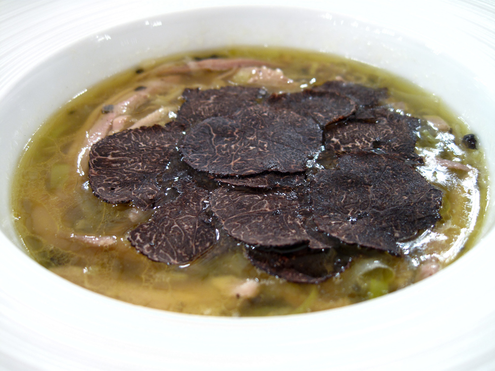 Le Bristol - Soupe ˆ la truffe noire