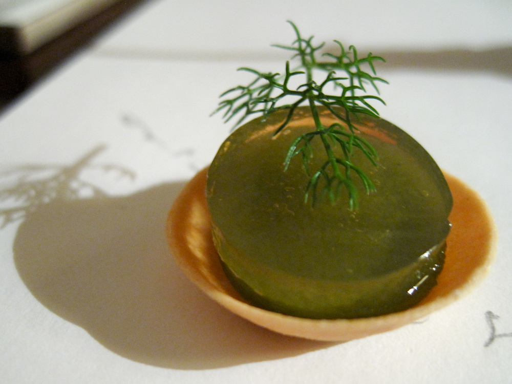 Il Canto - Amuses Bouches -  Seaweed