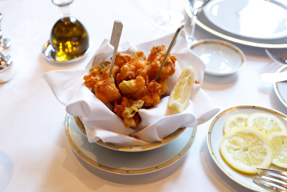 Le Cinq - Fried Octopus