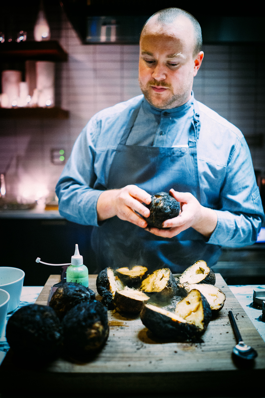 Chef Daniel Berlin