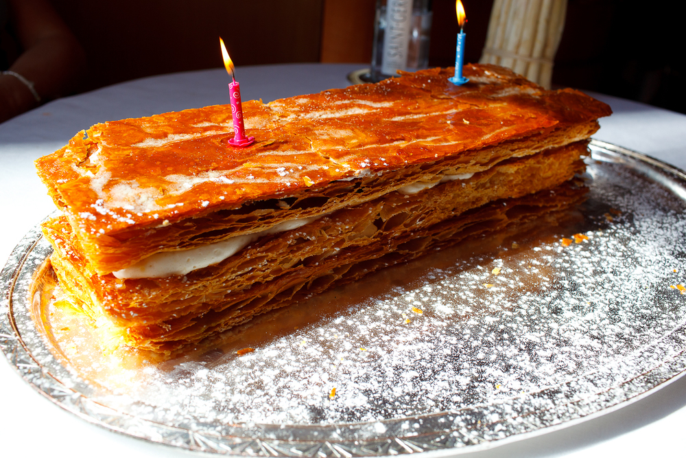 "Millefeuille ""Birthday Cake"""