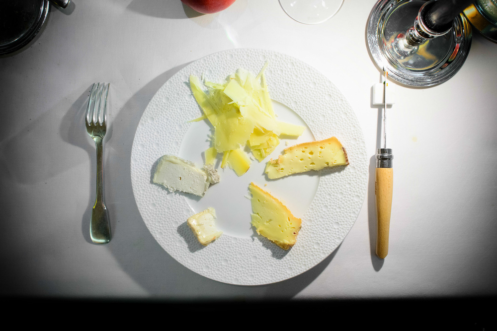 "14th Course: Fromages ""Bernard Antony"""