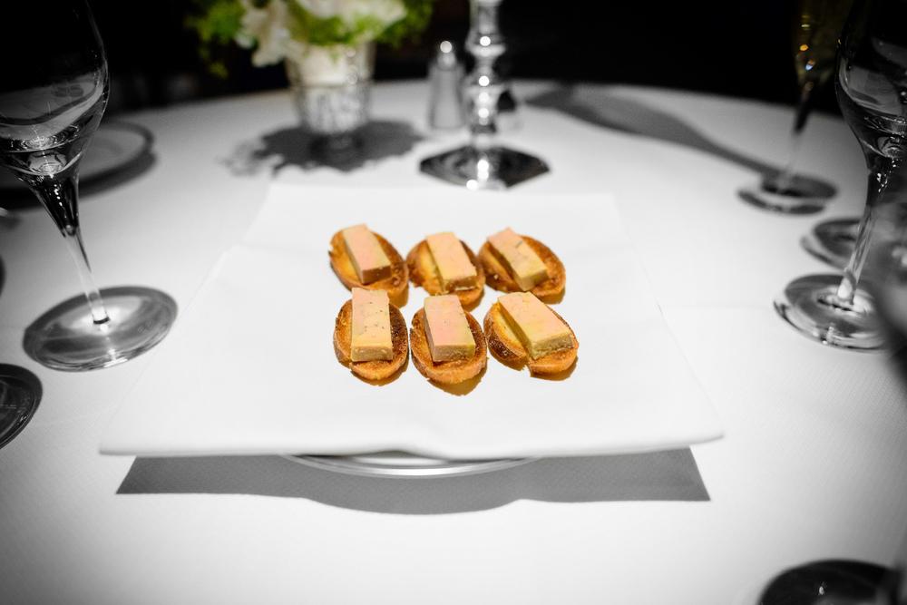 Foie gras crisps
