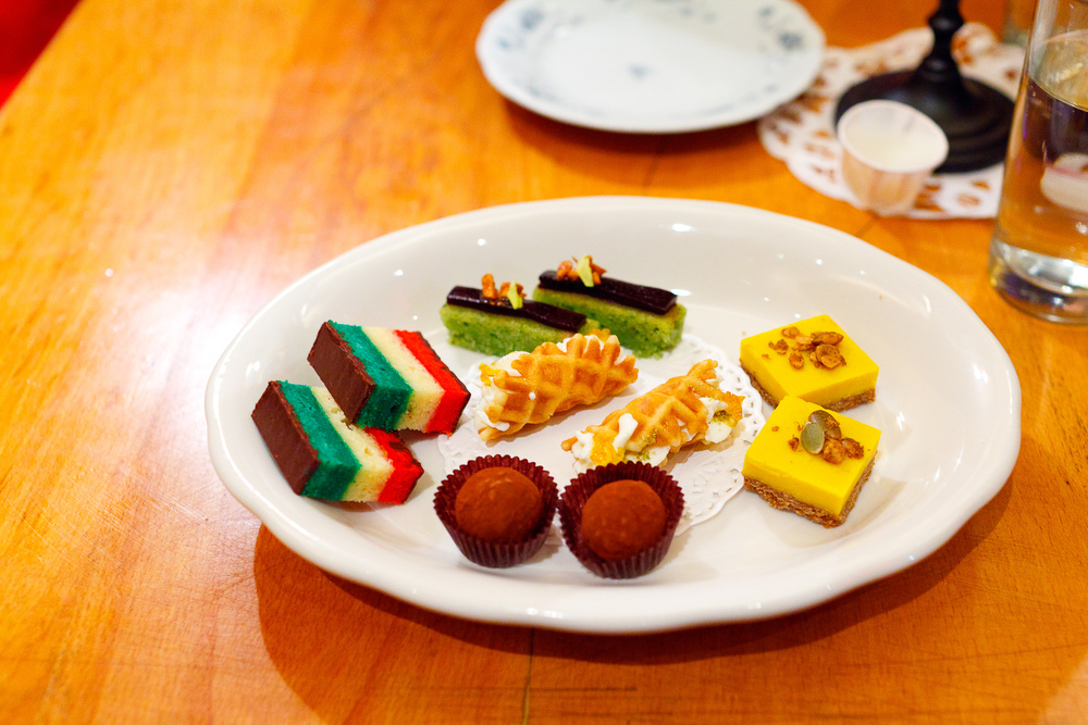 8th Course: Assorted cookies