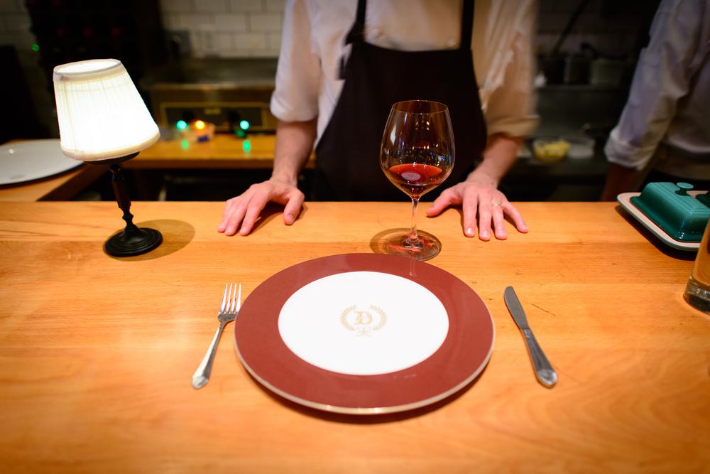 Original Delmonico dish ware