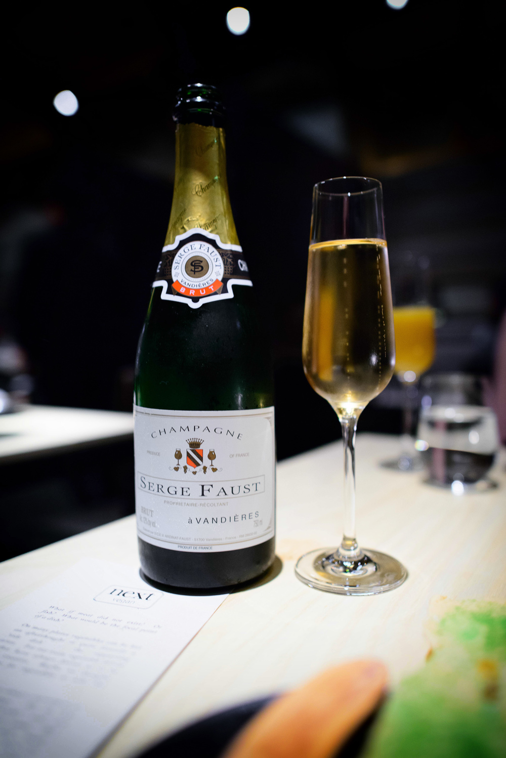Serge Faust Brut, Champagne, NV