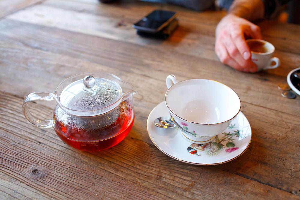 Earl grey tea ($4.50)
