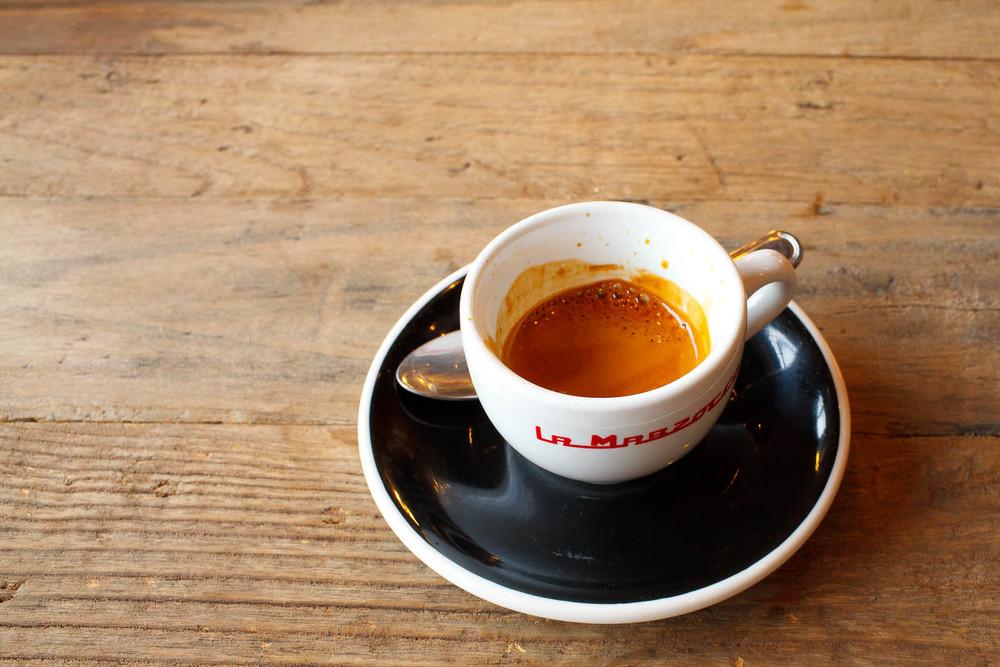 Single origin espresso - Rwanda Kiegeyo ($3.50)