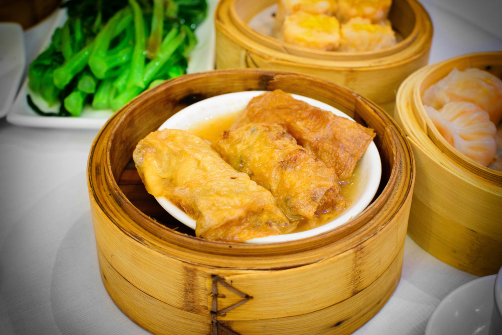 Bean curd with pork