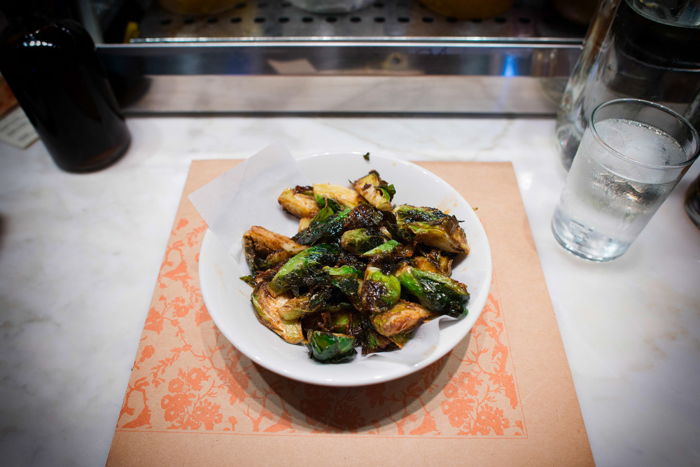 4th Course: Brussels sprouts